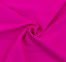 Fuchsia SPF 30 Solid Nylon Spandex Swimsuit/Athletic Fabric