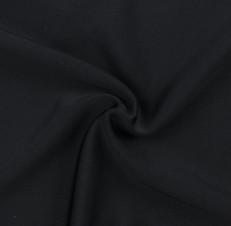 Black SPF 50 Solid Nylon Spandex Swimsuit/Athletic Fabric