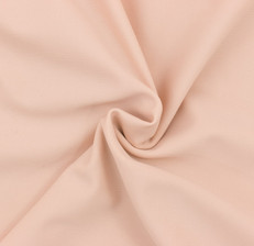 Nude Pink SPF 30 Solid Nylon Spandex Swimsuit/Athletic Fabric