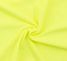 Neon Yellow SPF 30 Solid Nylon Spandex Swimsuit/Athletic Fabric