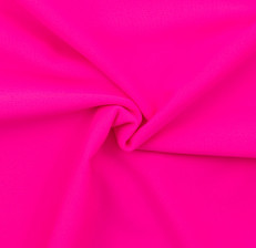 Neon Pink SPF 30 Solid Nylon Spandex Swimsuit/Athletic Fabric