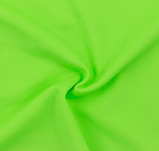 Neon Lime SPF 30 Solid Nylon Spandex Swimsuit/Athletic Fabric