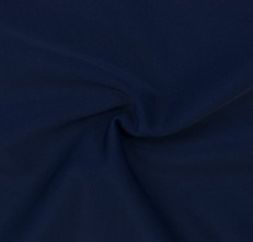 Navy SPF 50 Solid Nylon Spandex Swimsuit/Athletic Fabric
