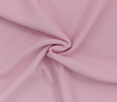 Light Pink SPF 30 Solid Nylon Spandex Swimsuit/Athletic Fabric