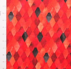 Pre-Order Fire Dragon Scales French Terry by Made Whimsy