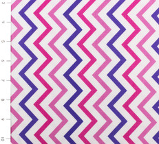 Mini Chic Chevron Princess by Michael Miller