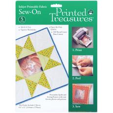 "Inkjet Printable Fabric, 8.5"" x 11"" Sheet"