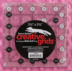 "Creative Grids 5.5"" Quilting Square Ruler"