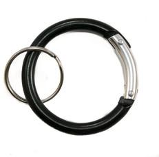 Circle Carabiner Clip Black