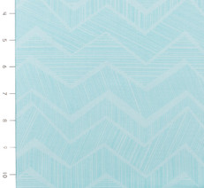 Chevron Aqua by Timeless Treasures
