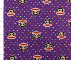 Paul Frank Purple Flannel