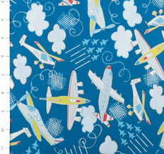 Take Flight Airplanes Blue by Camelot