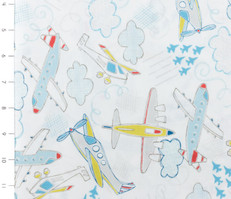 Take Flight Airplanes White by Camelot