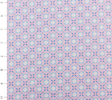 Candy Bloom Spot Pink and Blue by Ella Blue