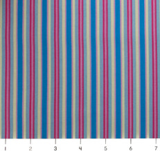 Candy Bloom Multi Stripe Blue by Ella Blue