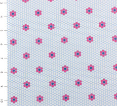 Nellie Hill Hexie Blue and Pink by Ella Blue