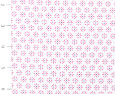 Nellie Hill Pink Floral on White by Ella Blue
