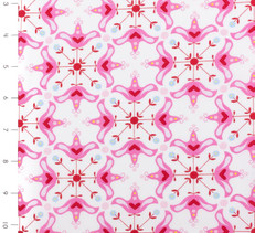 Candy Bloom White and Pink by Ella Blue