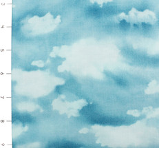 Coastal Breeze Sky Aqua by Moda