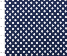 Knit Small Dot Navy by Riley Blake
