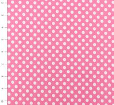 Knit Small Dots Hot Pink by Riley Blake