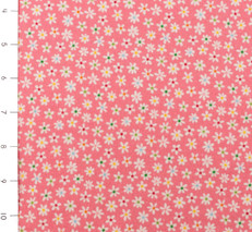 Sunshine Floral Pink Flannel by Riley Blake