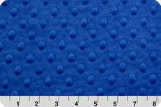 Cuddle Dimple Minky Electric Blue by Shannon Fabrics