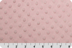 Cuddle Dimple Minky Baby Pink by Shannon Fabrics