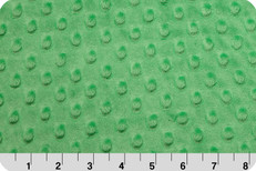 Cuddle Dimple Minky Kelly Green by Shannon Fabrics