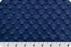Cuddle Dimple Minky Navy by Shannon Fabrics