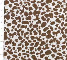 Oink a Doodle Moo Mud Eggshell by Moda