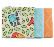 Foxes, Raccoons & Chevron Fat Quarter Bundle
