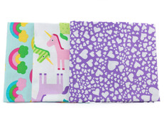 Unicorns, Rainbows & Hearts Fat Quarter Bundle
