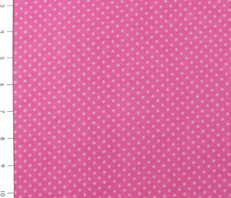 Pink Small Dot Cuddle Flannel by Fabri Quilt