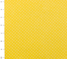 Yellow Small Dot Cuddle Flannel by Fabri Quilt