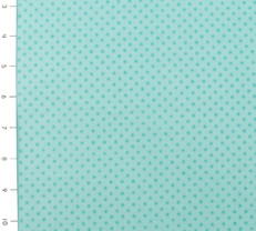 Teal Small Dot Cuddle Flannel by Fabri Quilt