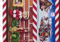 Elf on the Shelf Scenic Stripe by Quilting Treasures
