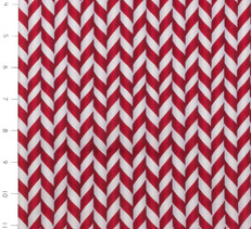 Elf on the Shelf Candy Cane Stripe by Quilting Treasures