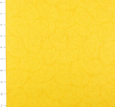 Lola Texutres in Yellow by Quilting Treasures