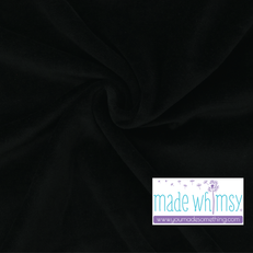 Jet Black Velour by Made Whimsy