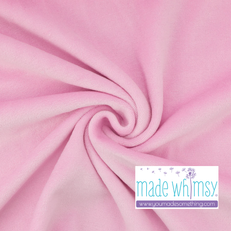 Cotton Candy Pink Velour by Made Whimsy