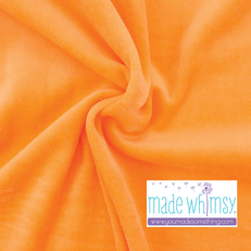 Tangerine Velour by Made Whimsy