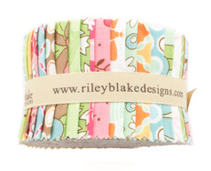 "Flower Patch 2.5"" Rolie Polie by Riley Blake"