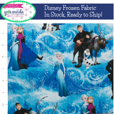 Disney Frozen Character Scenic by Springs Creative