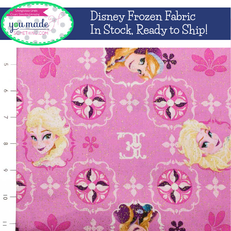 Disney Frozen Elsa & Ana Patch with Glitter by Springs Creative