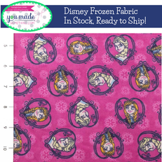 Disney Frozen Sister Heart Flannel by Springs Creative