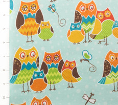 Owl Wonderful Packed Blue by Wilmington