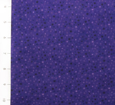 Petite Dots Purple Flannel by Wilmington