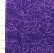 Swirly Scroll Purple by Wilmington