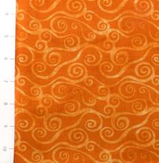 Swirly Scroll Orange by Wilmington